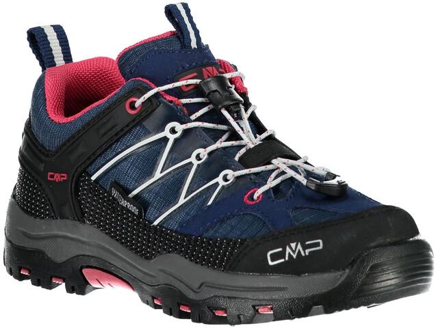 622ecf93c5615c CMP Campagnolo Rigel Low WP Schoenen Kinderen blauw/zwart l Outdoor ...